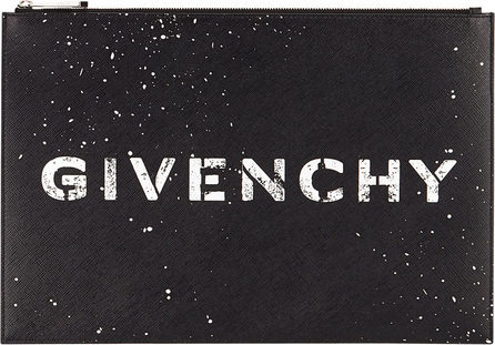 Givenchy Iconic Print Flat Logo Pouch Wallet