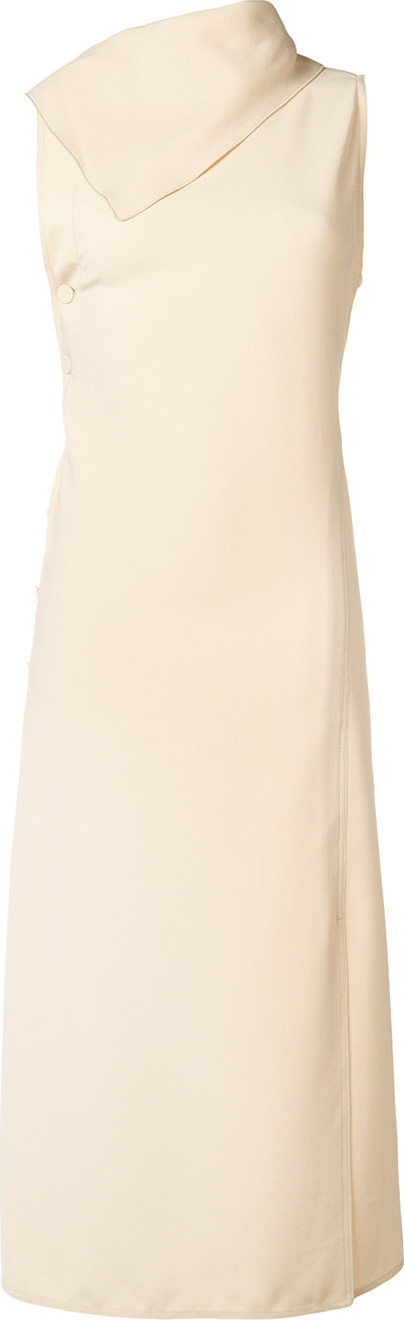 Joseph Ceil fluid twill dress