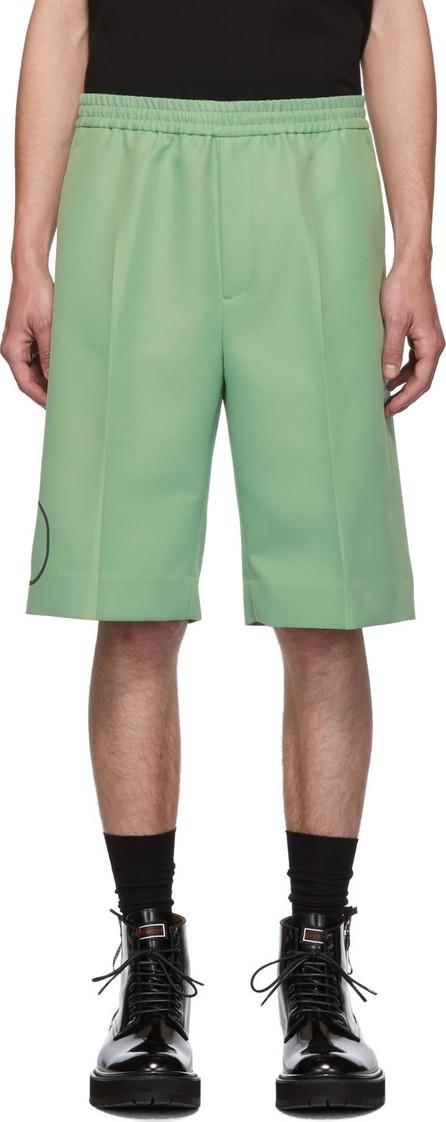 Valentino Green VLogo Bermuda Shorts