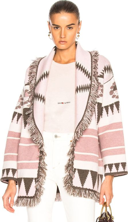 Alanui New Icon Oversized Jacquard Cardigan