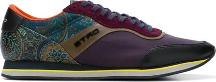 Etro Paisley runner sneakers