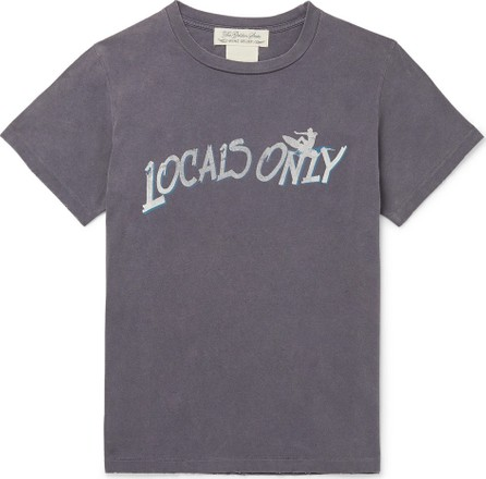Remi Relief Distressed Printed Cotton-Jersey T-Shirt