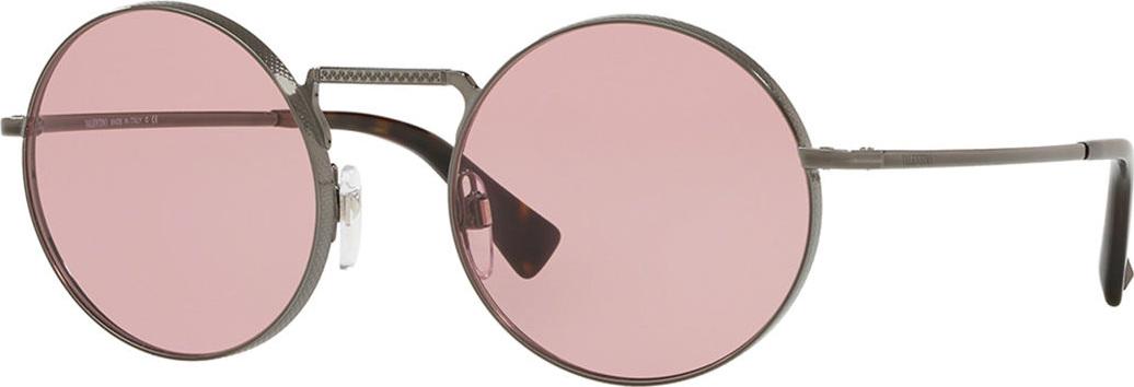 8562a3fcdff Valentino Round Filigree Metal Sunglasses - Mkt