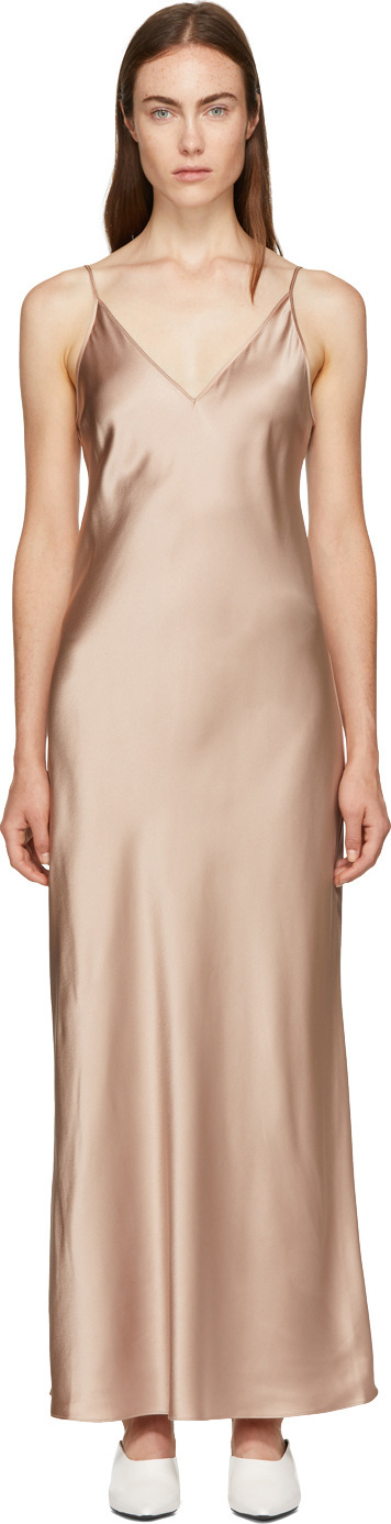 Joseph Pink Silk Clea Dress