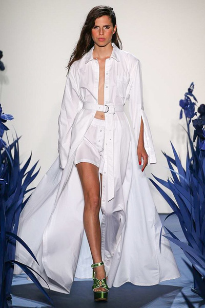 Adam Selman Spring 2018 Ready-to-Wear - Look #1