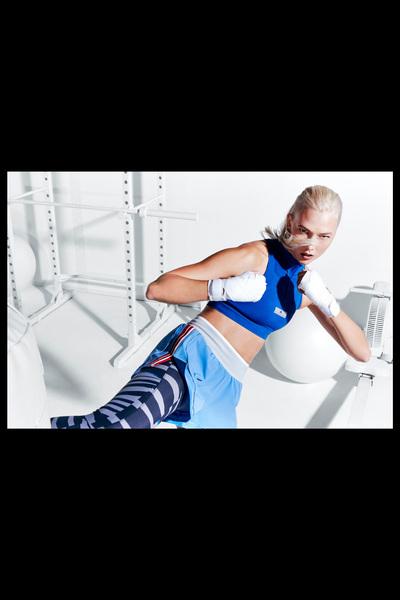 Adidas By Stella McCartney Spring 2018 Ready-to-Wear - Look #6