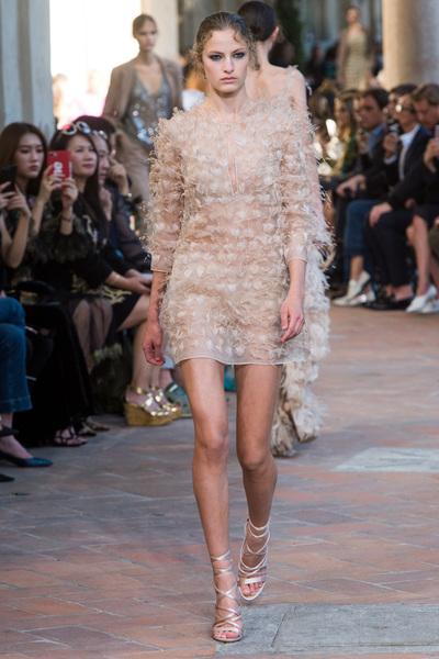 Alberta Ferretti Spring 2018 Ready-to-Wear - Look #27