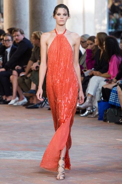 Alberta Ferretti Spring 2018 Ready-to-Wear - Look #33