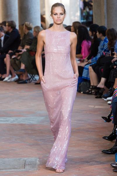 Alberta Ferretti Spring 2018 Ready-to-Wear - Look #36