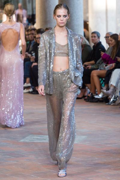 Alberta Ferretti Spring 2018 Ready-to-Wear - Look #37