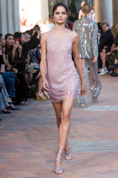 Alberta Ferretti Spring 2018 Ready-to-Wear - Look #38
