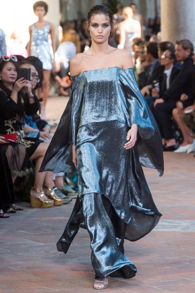 Alberta Ferretti Spring 2018 Ready-to-Wear - Look #43