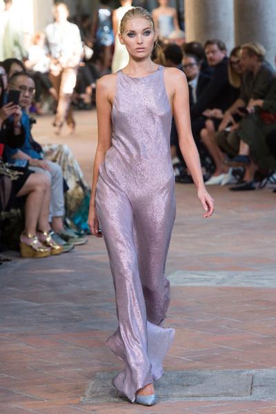 Alberta Ferretti Spring 2018 Ready-to-Wear - Look #47