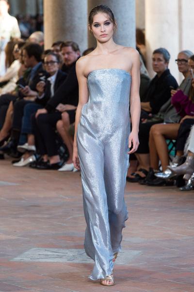 Alberta Ferretti Spring 2018 Ready-to-Wear - Look #49