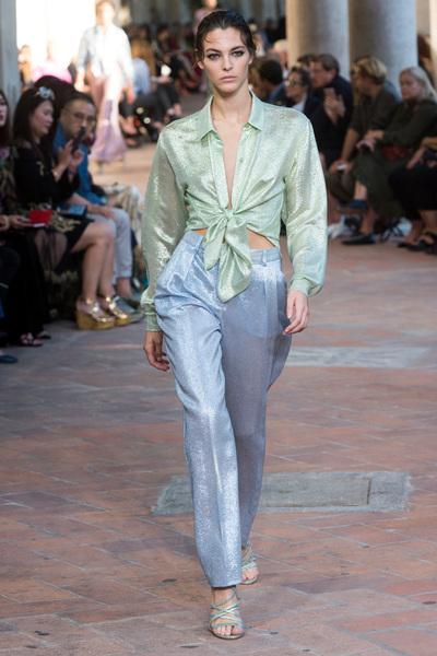 Alberta Ferretti Spring 2018 Ready-to-Wear - Look #50