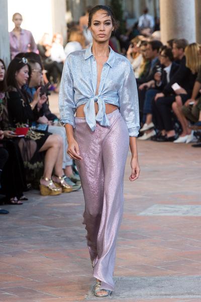Alberta Ferretti Spring 2018 Ready-to-Wear - Look #51
