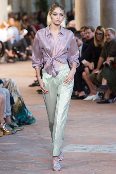 Alberta Ferretti Spring 2018 Ready-to-Wear - Look #52