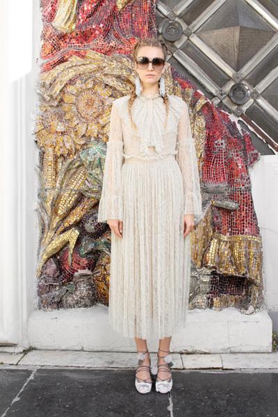 Alena Akhmadullina Spring 2018 Ready-to-Wear - Look #21