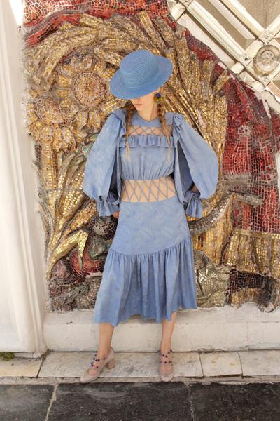 Alena Akhmadullina Spring 2018 Ready-to-Wear - Look #43