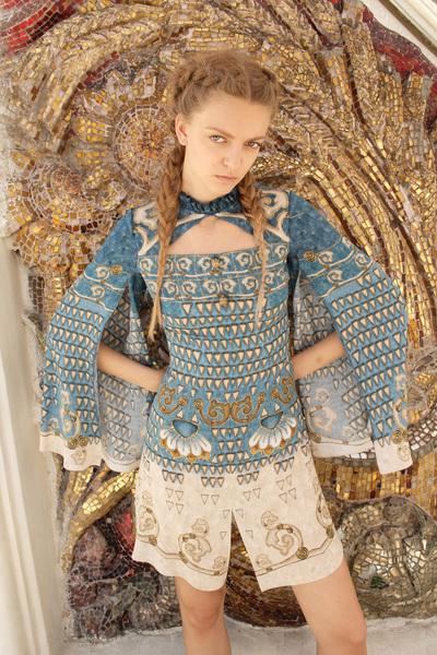 Alena Akhmadullina Spring 2018 Ready-to-Wear - Look #46