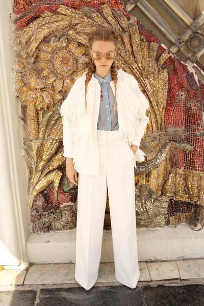 Alena Akhmadullina Spring 2018 Ready-to-Wear - Look #5