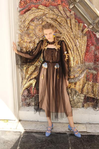 Alena Akhmadullina Spring 2018 Ready-to-Wear - Look #50