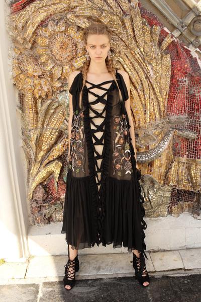 Alena Akhmadullina Spring 2018 Ready-to-Wear - Look #54