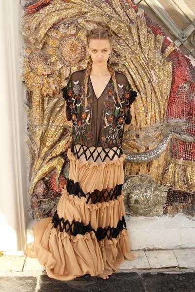 Alena Akhmadullina Spring 2018 Ready-to-Wear - Look #55