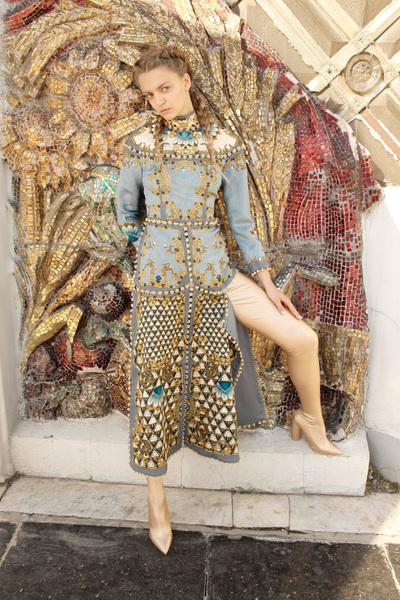 Alena Akhmadullina Spring 2018 Ready-to-Wear - Look #62