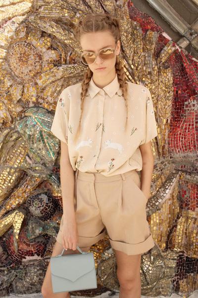 Alena Akhmadullina Spring 2018 Ready-to-Wear - Look #8