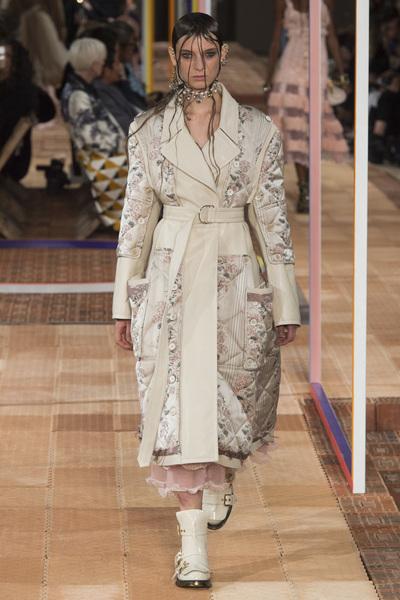 Alexander McQueen Spring 2018 Ready-to-Wear - Look #5