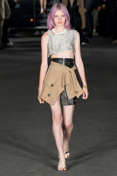 Alexander Wang Spring 2018 Ready-to-Wear - Look #4