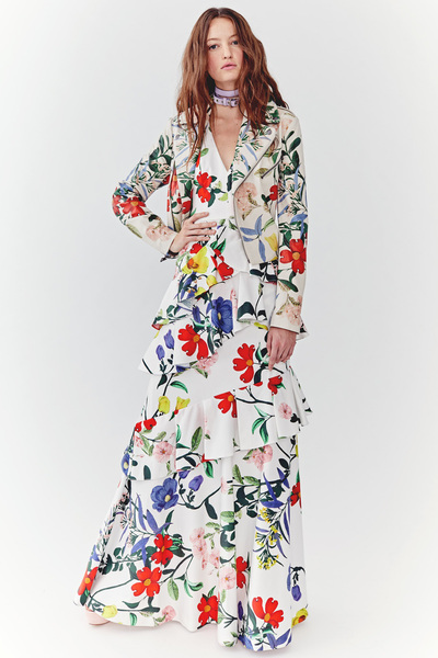 Alice + Olivia Spring 2018 Ready-to-Wear - Look #1