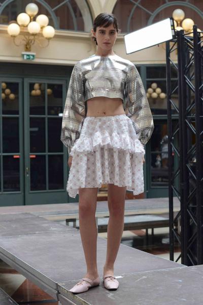 Anaïs Jourden Spring 2018 Ready-to-Wear - Look #10