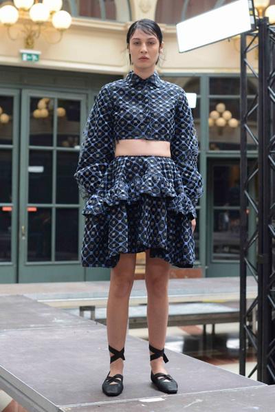 Anaïs Jourden Spring 2018 Ready-to-Wear - Look #12