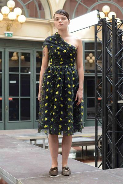 Anaïs Jourden Spring 2018 Ready-to-Wear - Look #13