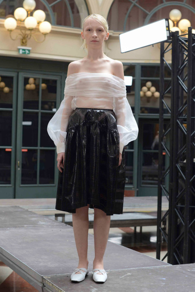 Anaïs Jourden Spring 2018 Ready-to-Wear - Look #14
