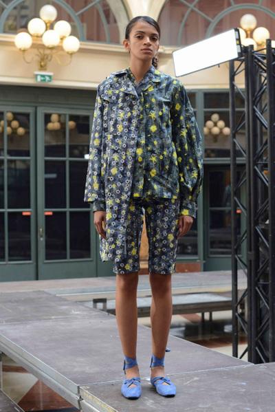 Anaïs Jourden Spring 2018 Ready-to-Wear - Look #17