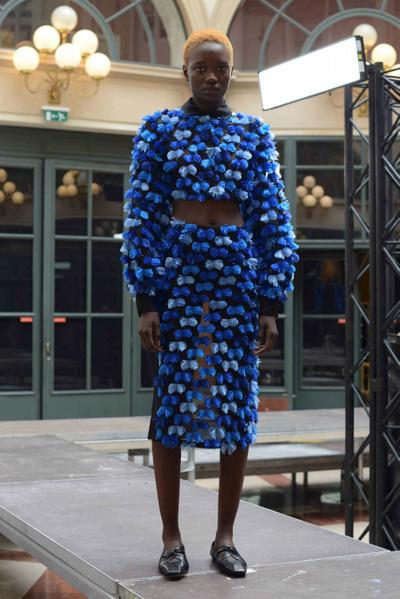 Anaïs Jourden Spring 2018 Ready-to-Wear - Look #5