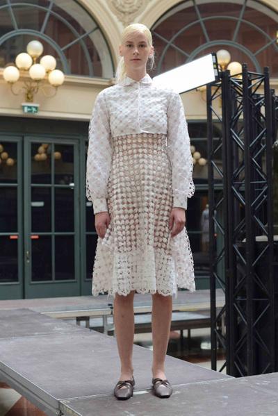 Anaïs Jourden Spring 2018 Ready-to-Wear - Look #8