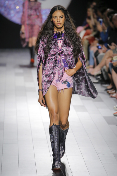 Anna Sui Spring 2018 Ready-to-Wear - Look #12