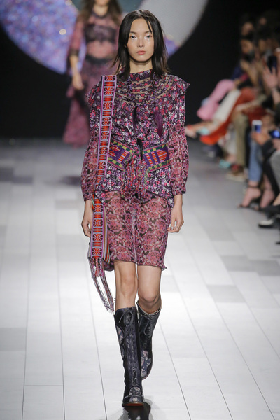Anna Sui Spring 2018 Ready-to-Wear - Look #13