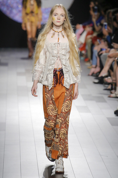 Anna Sui Spring 2018 Ready-to-Wear - Look #35