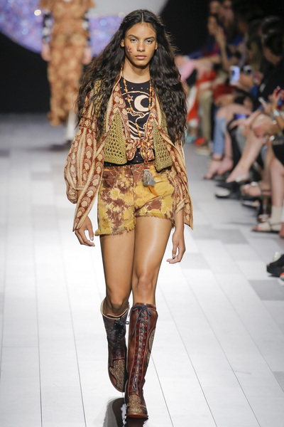 Anna Sui Spring 2018 Ready-to-Wear - Look #36