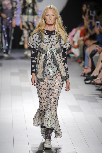 Anna Sui Spring 2018 Ready-to-Wear - Look #50