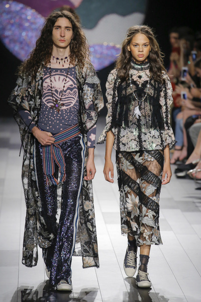 Anna Sui Spring 2018 Ready-to-Wear - Look #51