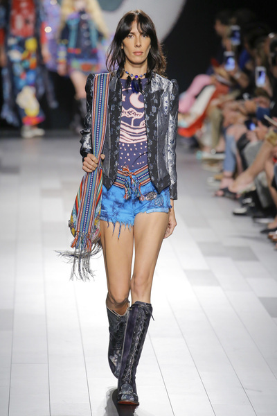 Anna Sui Spring 2018 Ready-to-Wear - Look #7