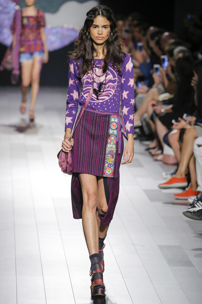 Anna Sui Spring 2018 Ready-to-Wear - Look #9