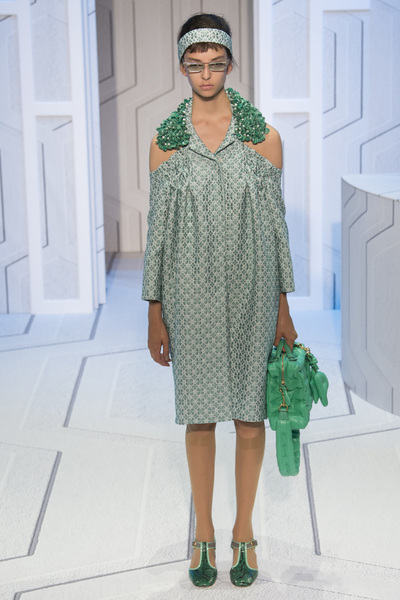 Anya Hindmarch Spring 2018 Ready-to-Wear - Look #22
