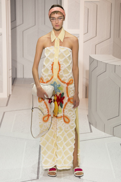 Anya Hindmarch Spring 2018 Ready-to-Wear - Look #32